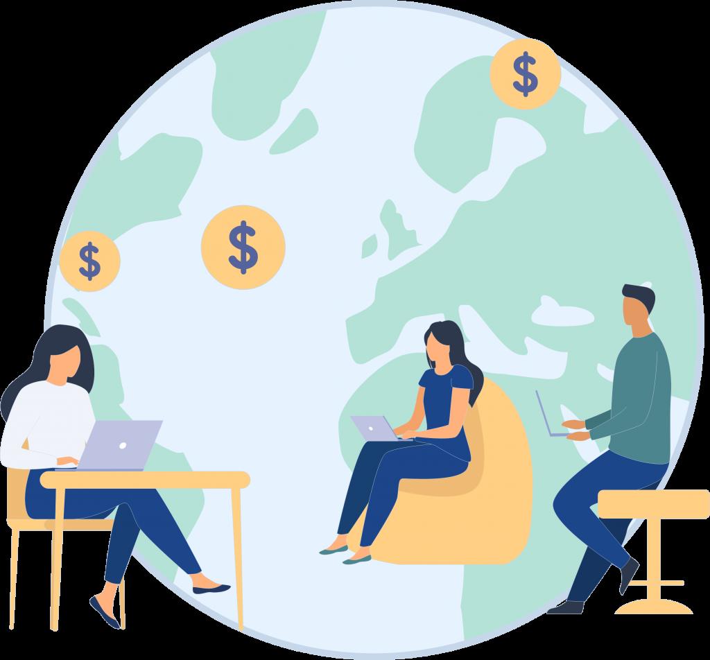 Wie Amnis WebApp funktioniert - Internationale Zahlungen