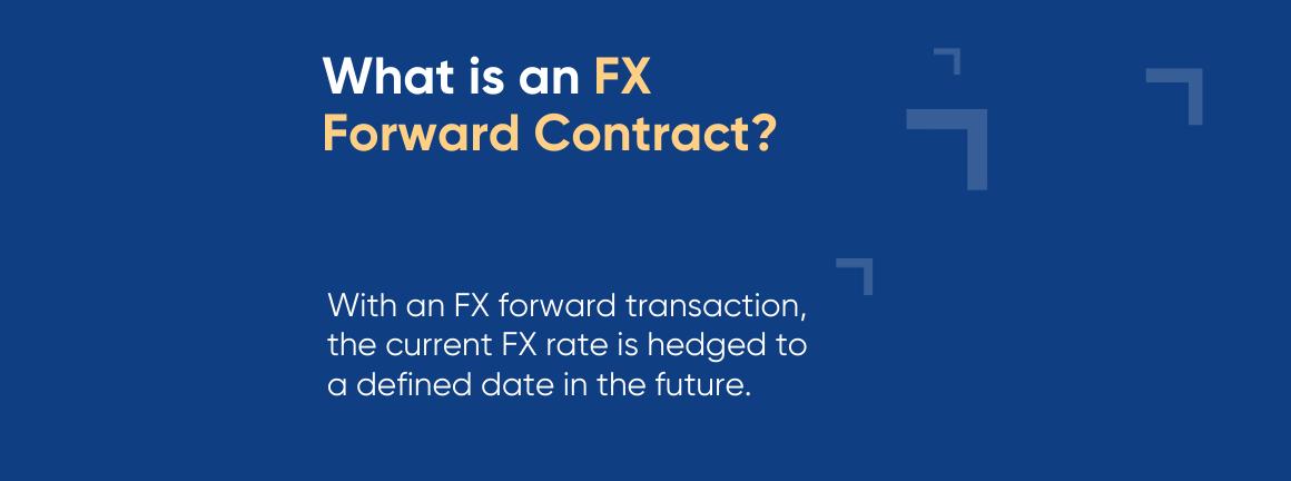 FX forward contract