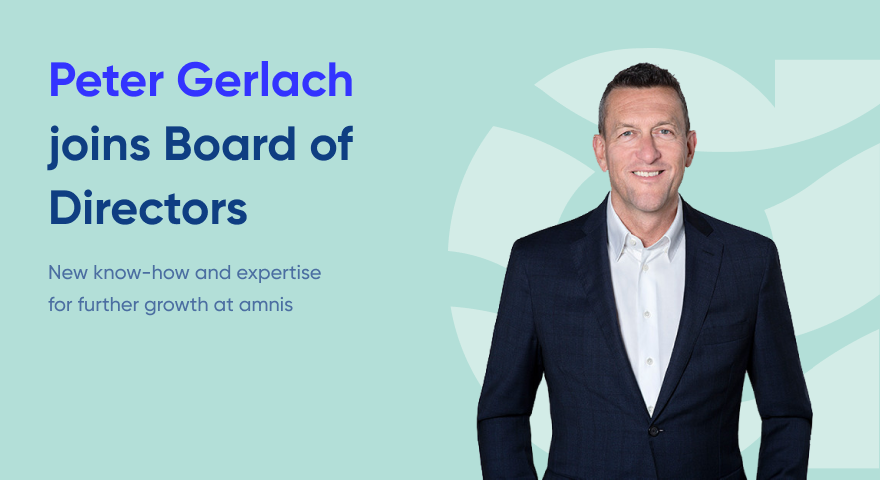 Peter Gerlach joins board of directors at amnis